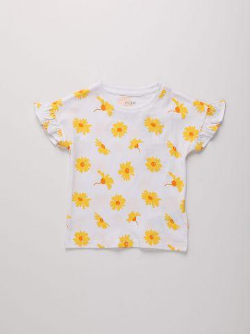 חולצה בהדפס פרחים / 6M-3Y של FOX