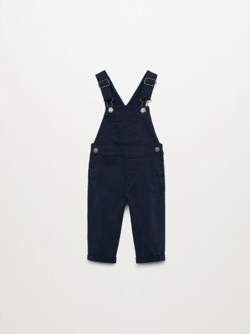 אוברול ארוך דמוי ג'ינס / 9M-4Y של MANGO
