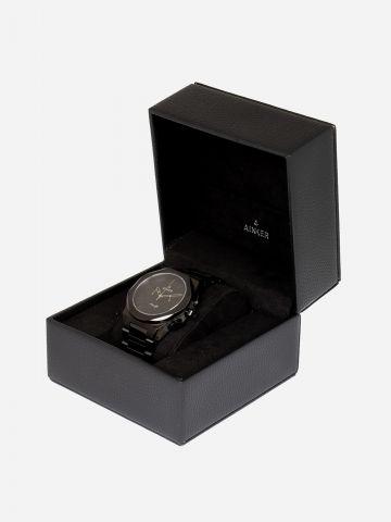 שעון חוליות אמאלפי מאט עם מחוגים / גברים של AINKER