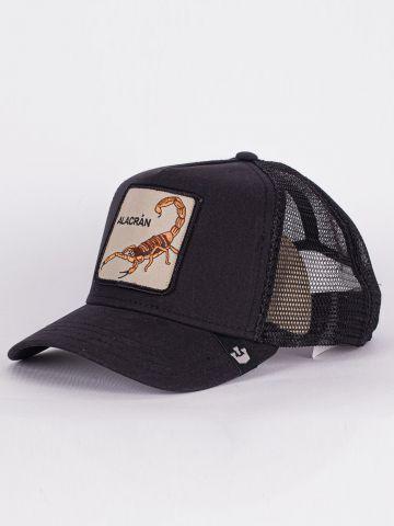 כובע מצחייה עם פאץ' עקרב / גברים של GOORIN BROS