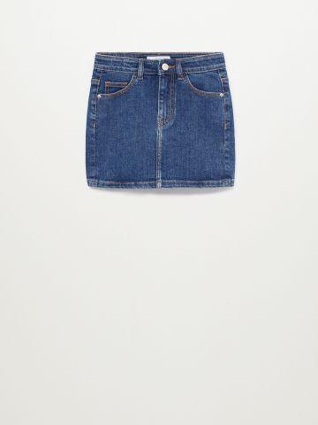 חצאית ג'ינס מיני / בנות של MANGO