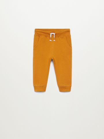 מכנסי טרנינג ארוכים / 9M-4Y של MANGO