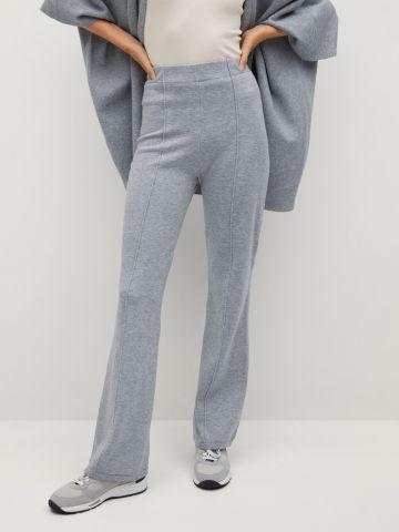 מכנסיים ארוכים בגזרה מתרחבת של MANGO
