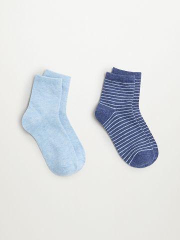 מארז 2 זוגות גרביים / בנים של MANGO