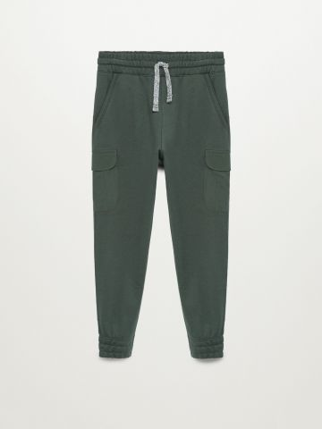 מכנסי טרנינג ארוכים עם כיסים / בנים של MANGO