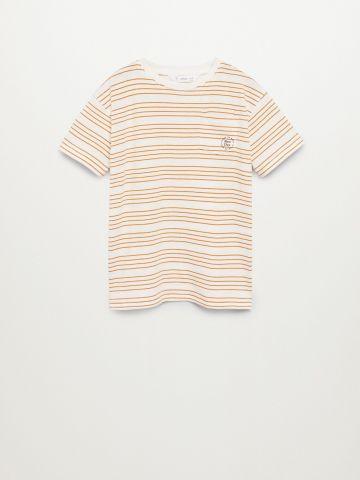 חולצת טי שירט בהדפס פסים / בנים של MANGO