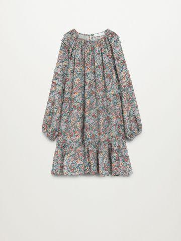 שמלת פפלום אוברסייז / בנות של MANGO