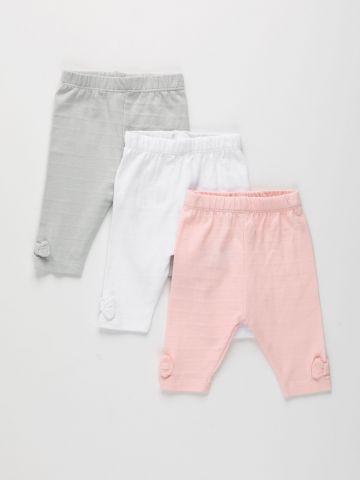 מארז 3 מכנסי טרנינג בסיומת פפיון / 0M-2Y של FOX