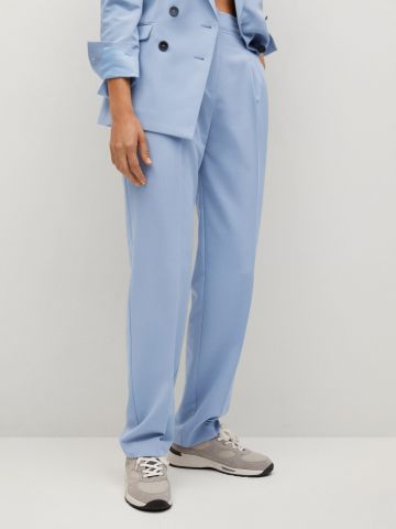 מכנסיים ארוכים מחוייטים של MANGO