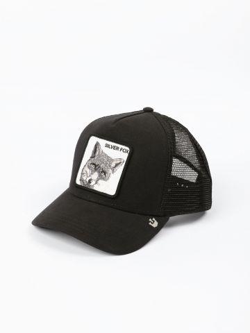 כובע מצחייה עם פאץ' שועל Sliver Fox / גברים של GOORIN BROS