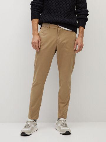 מכנסי צ'ינו קרופ של MANGO