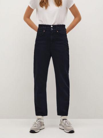 ג'ינס Sloucly בגזרה גבוהה של MANGO