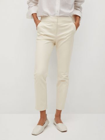 מכנסי סקיני בגזרת Slim-Fit של MANGO