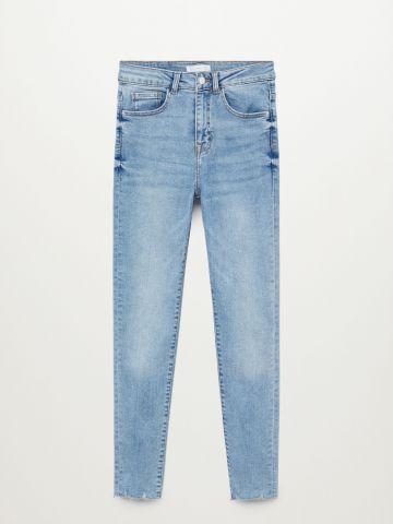ג'ינס בסיומת גזורה Slim-Fit / בנות של MANGO