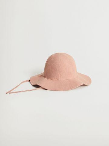 כובע באקט רחב שוליים / בייבי בנות של MANGO