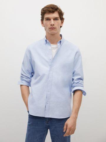 חולצת אוקספורד מכופתרת של MANGO