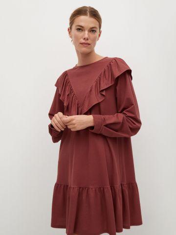 שמלת מיני פפלום של MANGO