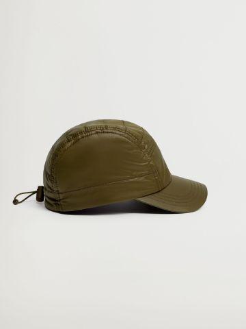 כובע מצחייה קווילט של MANGO