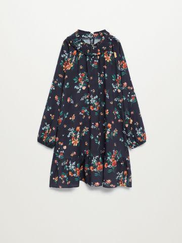 שמלה מתרחבת בהדפס פרחים / בנות של MANGO