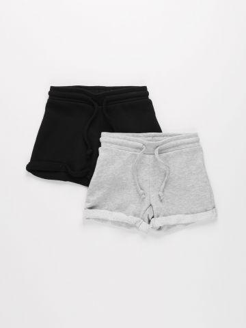 מארז 2 מכנסיים קצרים / בנות של FOX