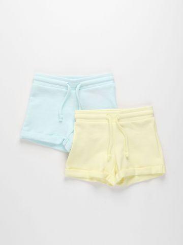 מארז 2 מכנסיים קצרים בסיומת קיפול / בנות של FOX