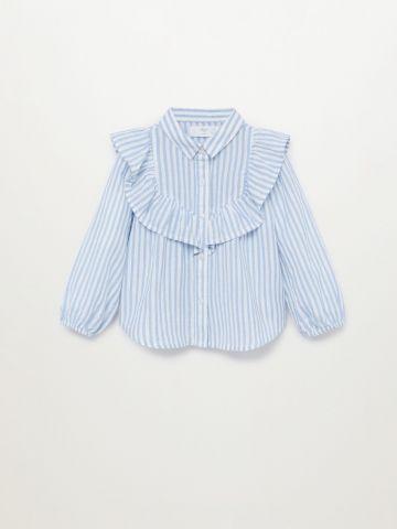 חולצה עם עיטור מלמלה / 12M-5Y של MANGO