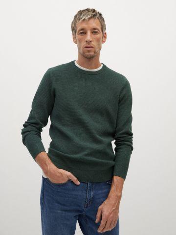 סוודר בטקסטורה של MANGO