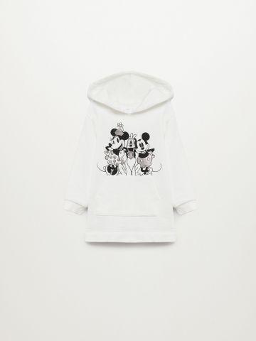 שמלת סווטשירט עם הדפס דיסני / 9M-4Y של MANGO