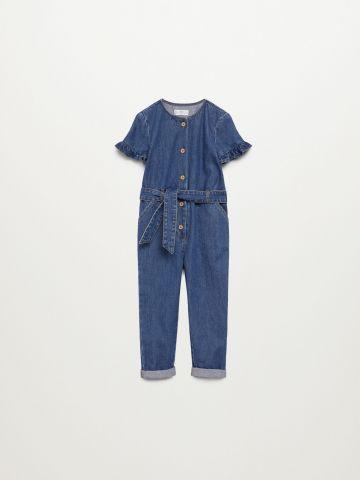 אוברול ג'ינס ארוך / 12M-5Y של MANGO