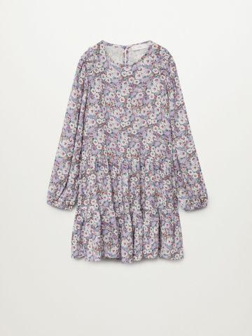 שמלת קומות בהדפס פרחים / בנות של MANGO