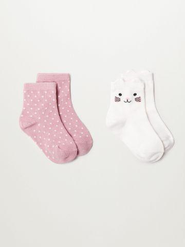 מארז 2 זוגות גרביים / 1Y-4Y של MANGO