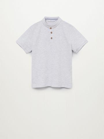 חולצת פולו עם כפתורים / בנים של MANGO
