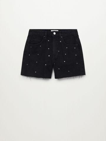 ג'ינס בעיטור ניטים / בנות של MANGO