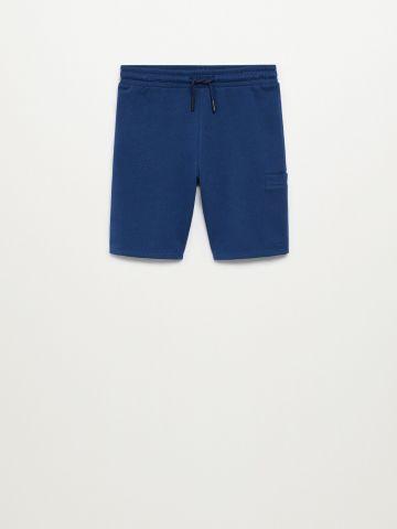 מכנסי טרנינג ברמודה עם כיסים / בנים של MANGO