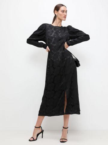 שמלת מידי בהדפס גיאומטרי של YANGA