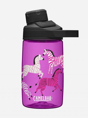 בקבוק שתיה עם פייה רחבה בדוגמת זברות 400 מ״ל / בנות של CAMELBAK