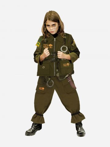 תחפשות חייל גולני לילדים / תחפושת לפורים של SHOSHI ZOHAR