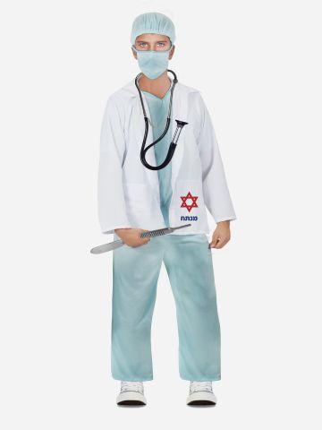 תחפושת רופא מנתח לילדים / תחפושת לפורים של TOYS