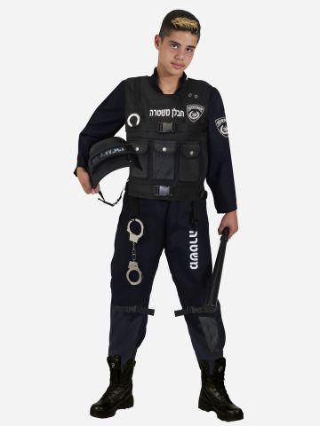 תחפושת חבלן משטרה לילדים / תחפושת לפורים של SHOSHI ZOHAR