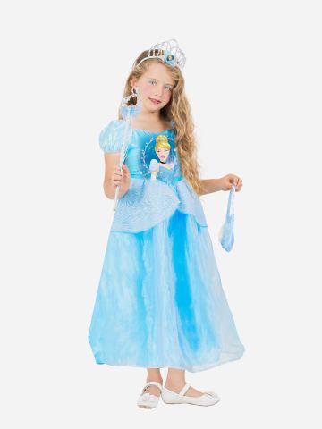 תחפושת הנסיכה סנידרלה לילדות / תחפושת לפורים של SHOSHI ZOHAR