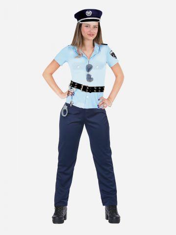 תלבושת שוטרת לנערות / תחפושת לפורים של TOYS