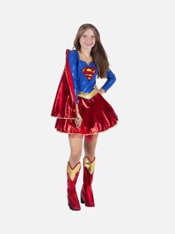 תחפושת סופרגירל Supergirl לנערות / תחפושת לפורים של TOYS