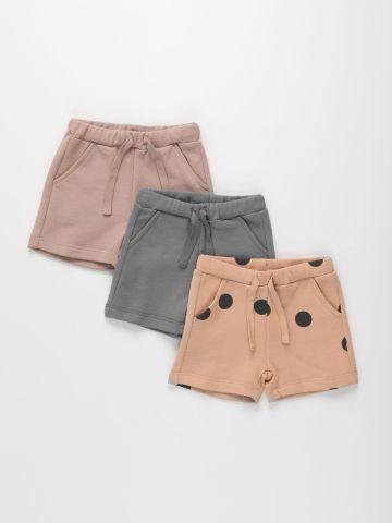 מארז 3 זוגות מכנסי פרנץ' טרי / 3M-6Y של TERMINAL X KIDS