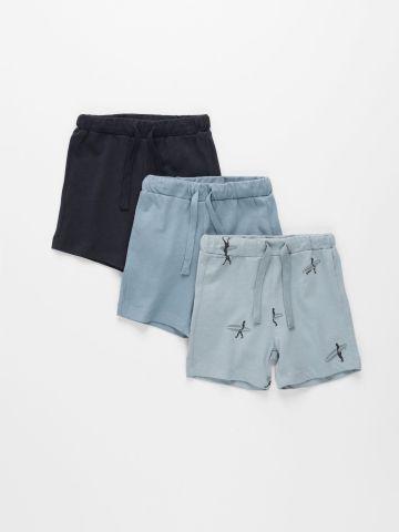 מארז 3 מכנסיים קצרים / 3M-4Y של TERMINAL X KIDS