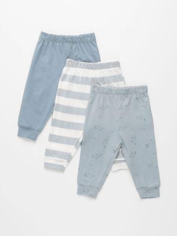 מארז 3 מכנסיים בהדפסים שונים / 0M-2Y של TERMINAL X KIDS