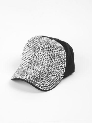 כובע מצחייה עם אבנים / תחפושת לפורים של SHOSHI ZOHAR