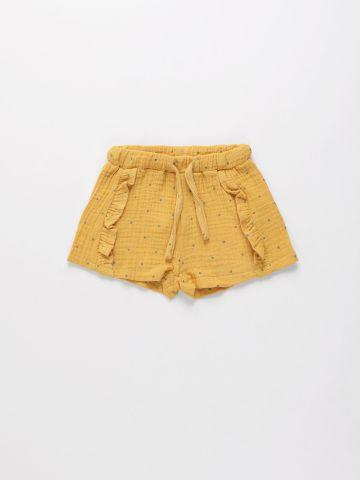 מכנסי טטרה קצרים עם מלמלה / 6M-4Y של TERMINAL X KIDS