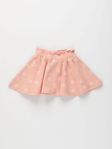 חצאית טטרה בהדפס פרחים / 6M-6Y של TERMINAL X KIDS