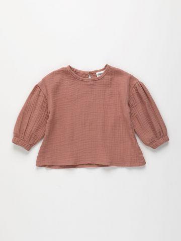חולצת טטרה שרוולים נפוחים / 6M-4Y של TERMINAL X KIDS