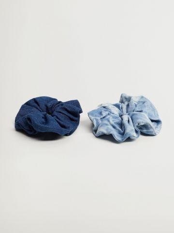 מארז 2 גומיות ג'ינס / נשים של MANGO